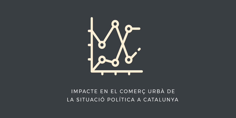 Urban retail impact due to political situation on Catalonia